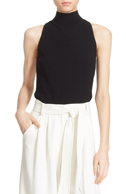 Milly - Mock Neck Tank Top