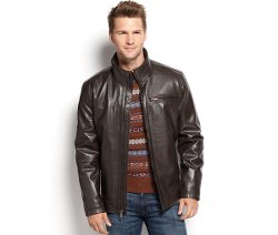 Marc New York - Smooth Leather Moto Jacket