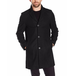 Tommy Hilfiger  - Wool Melton Unfilled Top Coat