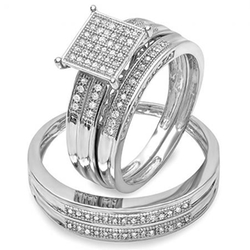 Dazzling Rock - Pave Engagement Ring