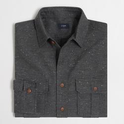 The J.crew Credit Card - Factory Tweed Workshirt