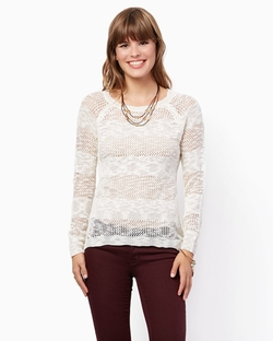 Peyton - Open Knit Pullover
