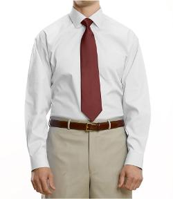 Jos. A. Bank - Traveler Pinpoint Solid Spread Collar Dress Shirt