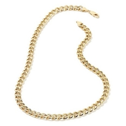 Doublebeez Jewelry - Cuban Curb Chain Link Necklace