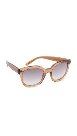 Bottega Veneta  - Thick Frame Sunglasses