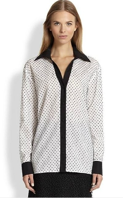 Emanuel Ungaro  - Cotton Dot Blouse