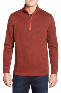 Bugatchi  - Quarter Zip Pullover