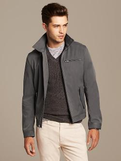 Banana Republic - Gray Zip Jacket