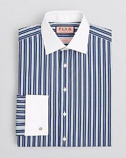 Thomas Pink  - Hendon Stripe Dress Shirt - Regular Fit