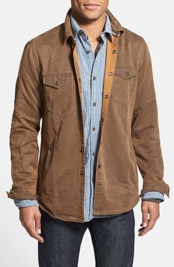Jeremiah  - Sueded Cotton Blend Shirt Jacket