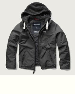 A&F - Warrior Hooded Jacket