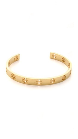 Tory Burch - Pierced T Cuff Bracelet