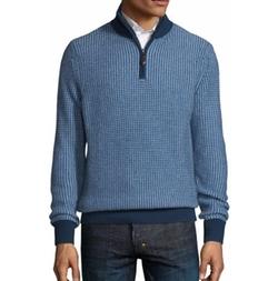 Neiman Marcus - Quarter-Zip Sweater