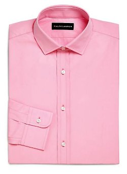 Ralph Lauren Black Label  - Slim-Fit Sloan Dress Shirt