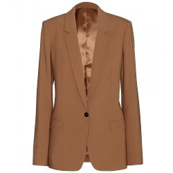 Acne Studios  - Single Button Crepe Blazer
