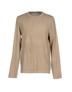 Dondup - Roung Collar Long Sleeve T-Shirt