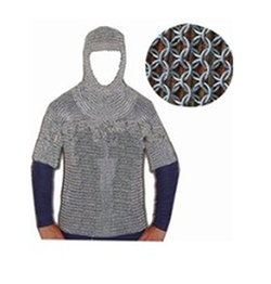 Queen Brass - Medieval Chain Mail Costume