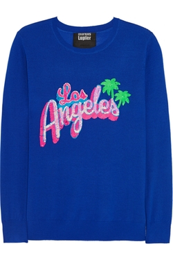 Markus Lupfer  - Los Angeles Sequined Merino Wool Sweater