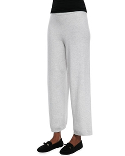 Joan Vass - Wide-Leg Knit Pants