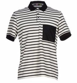 MSGM - Striped Polo Shirt