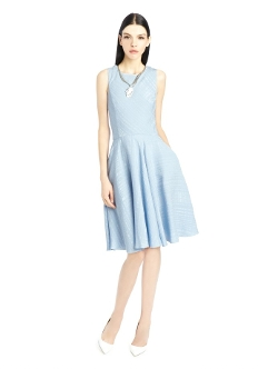Oscar De La Renta - Wedgewood Boucle Jacquard Dress