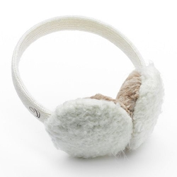 Cuddl Duds  - Soft Yarn-Knit Faux Fur Lined Earmuffs