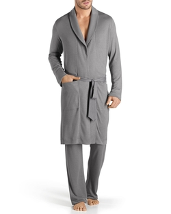 Hanro	 - Theophile Solid Knit Robe