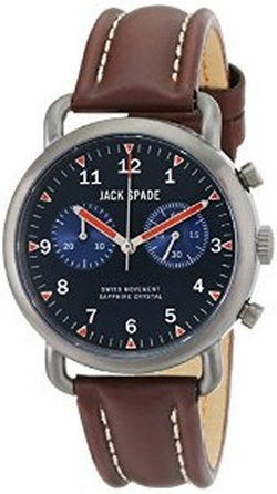Jack Spade - Brown Leather Watch