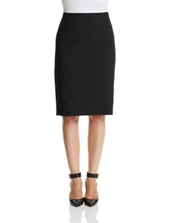 Theory - Stretch Wool Pencil Skirt