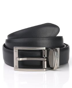 Geoffrey Beene  - Reversible Leather Dress Belt
