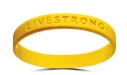 LiveStrong - Silicon Wristband Bracelet