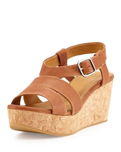Coclico  - Manga Leather Strappy Wedge