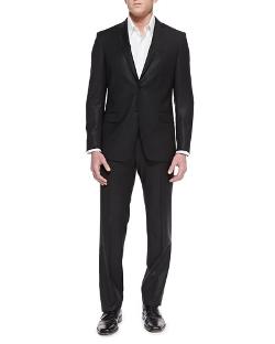 Versace -  City-Fit 2-Button Wool Suit