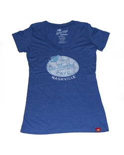 Bluebird Cafe - Distressed Stamp Tee