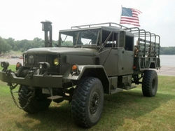 AM General - Bobbed Crew Cab Deuce and a Half Military Truck