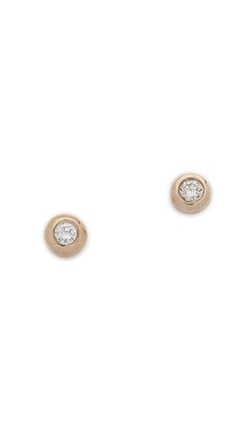 Blanca Monros Gomez  - Mini Diamond Stud Earrings