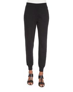 Joan Vass - Cotton Interlock Jog Pants