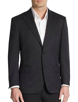 Corneliani - Virgin Wool Suit Jacket