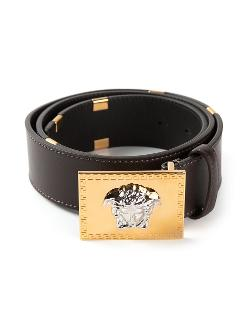 Versace  - Rectangular Buckle Belt
