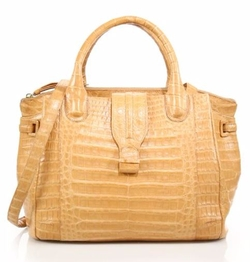 Nancy Gonzalez  - Cristina Medium Crocodile Satchel Bag
