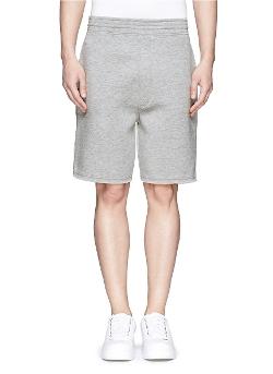 Neil Barrett - Cotton Blend Bonded Jersey Shorts