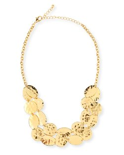 Jules Smith   - Hammered Coin Necklace