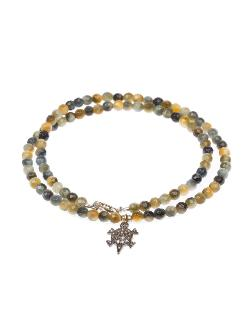 Catherine Michiels  - Beaded Turtle Necklace