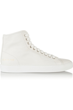 Common Projects - Tournament Leather High-Top Sneakers