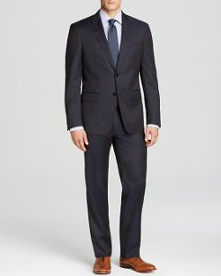 John Varvatos Luxe - Solid Suit Slim Fit