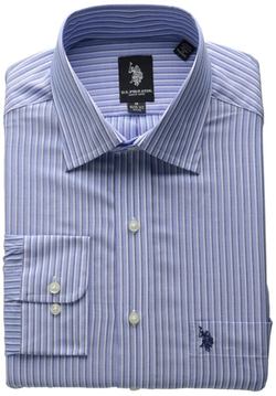 U.s. Polo Assn. - Spread Collar Stripe Shirt