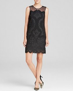 Diane Von Furstenberg  - Lace Shift Dress