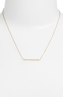 Nadri  - Bar Pendant Necklace