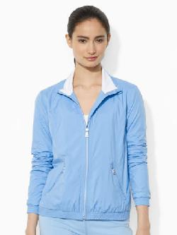Lauren Active  - Full-Zip Mockneck Windbreaker