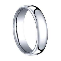 Forever Flawless  - Domed Polished Tungsten Carbide Wedding Band Ring